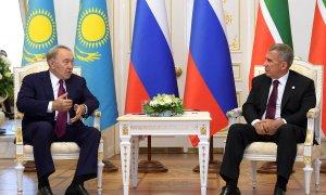 Состоялась встреча президентов Казахстана и Татарстана