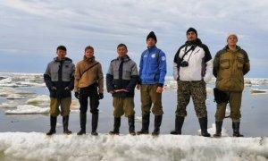 Казахстанские студенты вернулись из Арктики