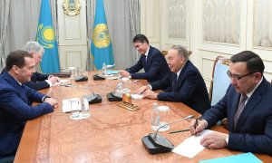 Нурсултан Назарбаев встретился с Председателем Правительства РФ Дмитрием Медведевым